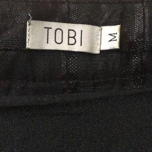 Tobi Skirts - Black skater skirt